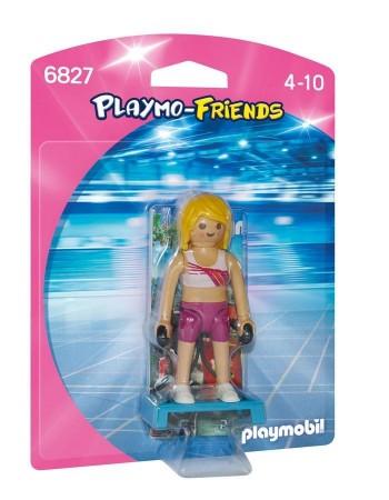 PLAYMOBIL PROFESORA FITNESS 6827