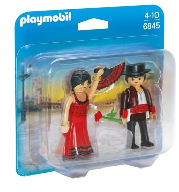 PLAYMOBIL DUO FLAMENCA  Y FLAMENCO 6845