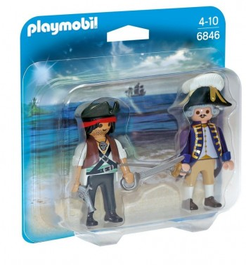 PLAYMOBIL DUO PIRATA SOLDADO 6846