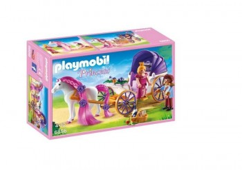 PLAYMOBIL PRINCESAS CARRUAJE REAL 6856