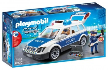 PLAYMOBIL COCHE POLICIA 6920