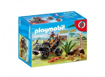 PLAYMOBIL EXPLORADOR CON QUAD 6939