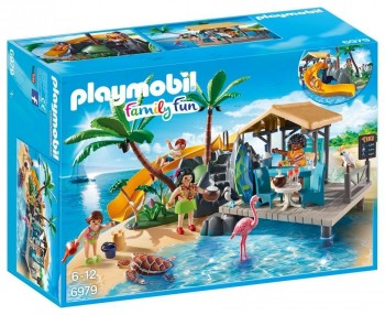 PLAYMOBIL FAMILY FUN ISLA RESORT 6979