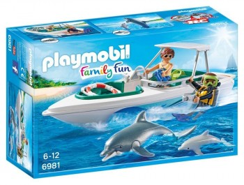PLAYMOBIL FAMILY FUN EQUIPO BUCEO 6981