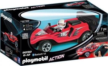 PLAYMOBIL ACTION COCHE R/C 9090