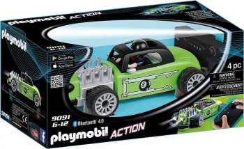 PLAYMOBIL ACTION COCHE R/C 9091