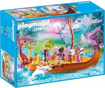 PLAYMOBIL FAIRIES BARCO ROMANTICO DE HADAS 9133