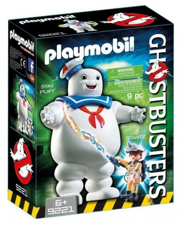 PLAYMOBIL GHOSTBUSTER STAY PUFT 9221