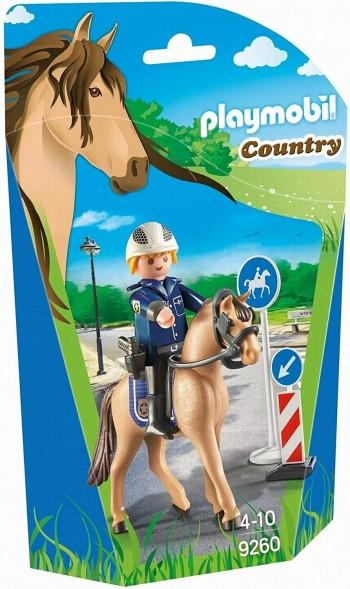 PLAYMOBIL COUNTRY POLICIA MONTADA 9260