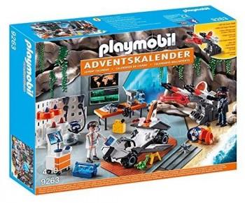 PLAYMOBIL CALENDARIO DE L AVENT AGENTES 9263