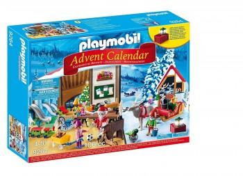 PLAYMOBIL CALENDARIO DE L AVENT TALLER NAVIDAD 9264