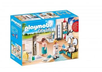 PLAYMOBIL CITY LIFE BAÑO MODERNO 9268