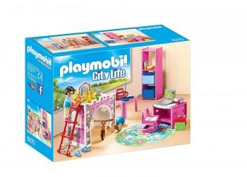PLAYMOBIL CITY LIFE DORMITORIO INFANTIL MODERNO 9270
