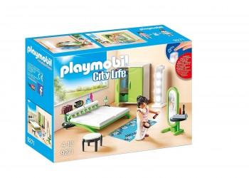 PLAYMOBIL CITY LIFE DORMITORIO MODERNO 9271