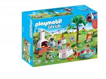 PLAYMOBIL CITY LIFE FIESTA EN EL JARDIN 9272
