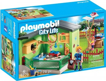 PLAYMOBIL CITY LIFE REFUGIO GATOS 9276