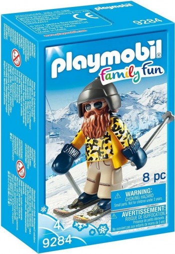 PLAYMOBIL ESQUIADOR BARBA 9284