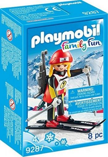 PLAYMOBIL ESQUIADOR CHICA 9287
