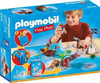 PLAYMOBIL PLAY MAP PIRATAS 9328