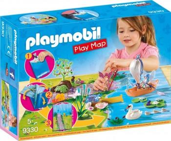 PLAYMOBIL PLAY MAP HADAS JARDIN 9330