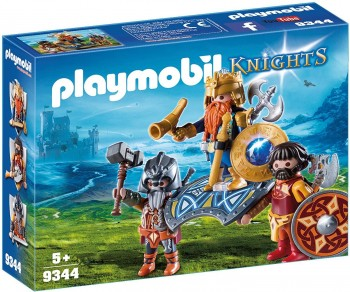PLAYMOBIL KNIGHTS REY GNOMOS 9344