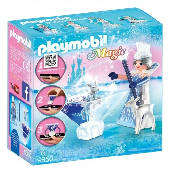 PLAYMOBIL MAGIC PRINCESA HIELO CON CIERVOS 9350
