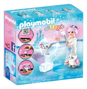 PLAYMOBIL MAGIC PRINCESA HIELO CON BUHOS 9351