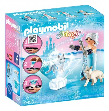 PLAYMOBIL MAGIC PRINCESA INVIERNO CON PERROS 9353