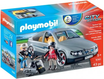 PLAYMOBIL CITY COCHE  CIVIL ESPECIAL 9361