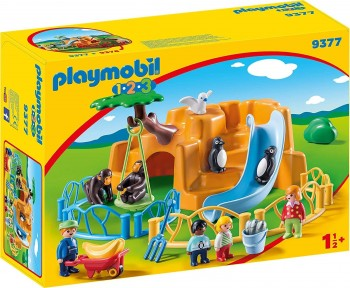 PLAYMOBIL 123 ZOO ANIMALES 9377