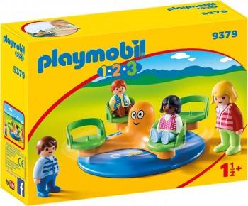 PLAYMOBIL 123 PARQUE CARRUSEL INFANTIL 9379