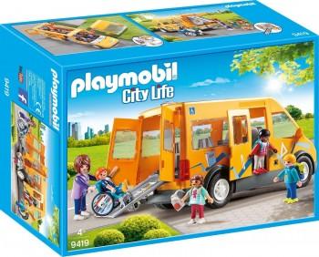 PLAYMOBIL CITY LIFE AUTOBUS ESCOLAR 9419