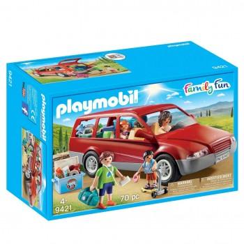 PLAYMOBIL CITY LIFE COCHE FAMILIAR 9421