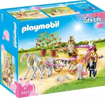 PLAYMOBIL CITY LIFE CARRUAJE NUPCIAL 9427