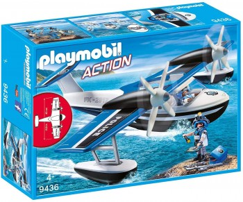 PLAYMOBIL CITY HIDROAVION POLICIA 9436