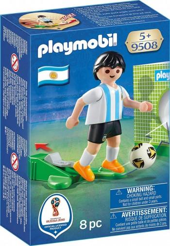 PLAYMOBIL JUGADOR FUTBOL SELECCION ARGENTINA 9508
