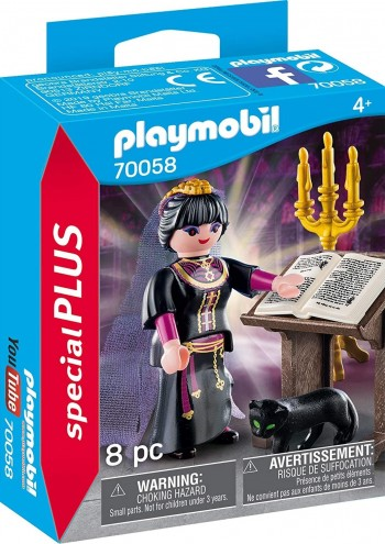 PLAYMOBIL PLUS  BRUJA  70058