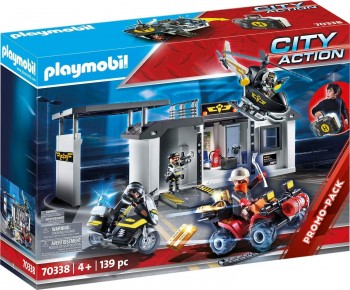PLAYMOBIL CITY MALETIN COMISARIA FUERZAS ESPECIALES 70338