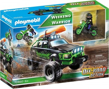 PLAYMOBIL CITY ACTION TODOTERRENO AVENTURAS 70460