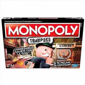 MONOPOLY TRAMPOSO HASBRO REF-E1871