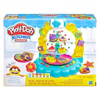 PLAY-DO DULCE FABRICA DE GALLETAS HASBRO 456E5109