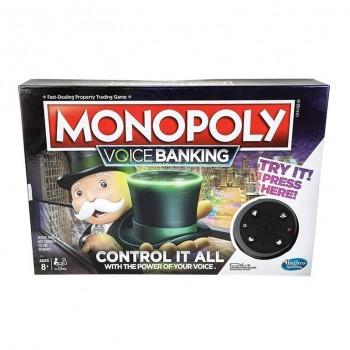 MONOPOLY VOICE BANKING HASBRO 456E4816