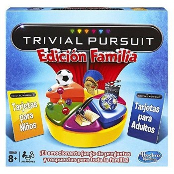 JUEGO TRIVIAL PURSUIT EDICION FAMILIAR