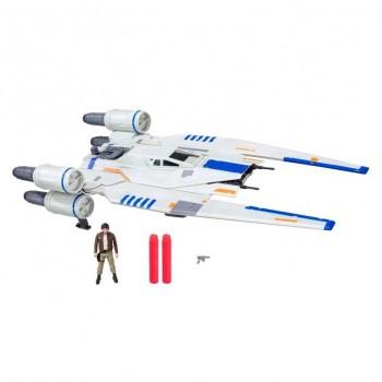 STAR WARS REVEL U-WING LANZADOR NERF HASBRO REF-456B7101