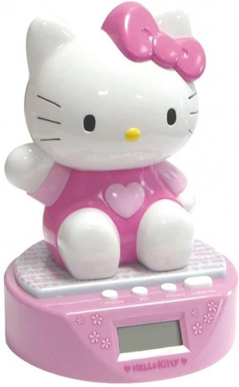 DESPERTADOR MUSICAL 3D HELLO KITTY