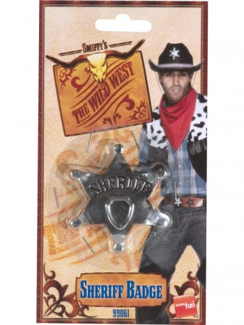 PLACA SHERIFF SMIFFYS 99061