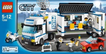 LEGO CITY COMISARIA MOVIL 7288