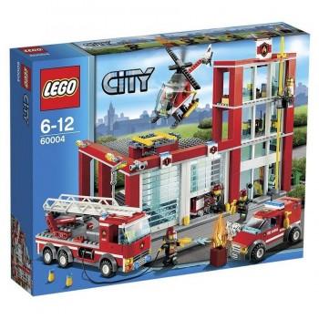 LEGO CITY ESTACION DE BOMBEROS 60004