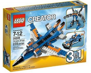 LEGO CREATOR 3 EN 1 AVION ULTRASONICO 31008