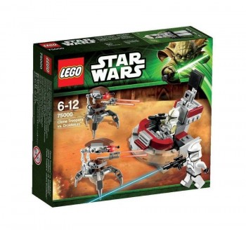 LEGO STAR WARS CLONE TROOPERS 75000